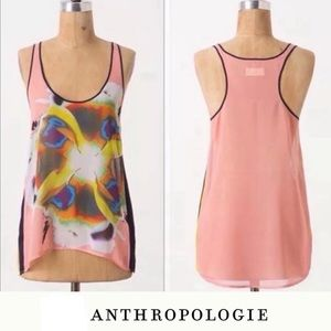 Dream Daily Abstract Floral Print Tank